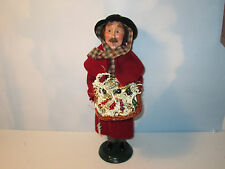 Byers Choice Retired 2002 Ornament Vendor Signed