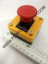 Large Red Emergency E-Stop Push Button Switch Station Normally Closed CNC Router