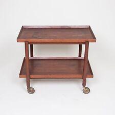 Poul Hundevad Danish Modern Teak Bar Cart Mid Century Like Knoll Herman Miller