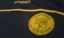MAGLIA SHIRT VINTAGE FOOTBALL SPORTVEREIN ST. BLASIEN UHLSPORT XL. MATCH WORN