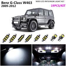 19Bulbs Super White 6000K Interior Light Kit LED Fit 2009-2012 Benz G-Class W463