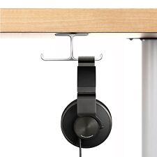 Headphone Stand, 6amLifestyle Aluminum Under desk Dual Headset Hanger Holder