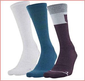3 Pairs - Under Armour Phenom 4.0 CREW Socks Wicks Large - Purple White  🌟NEW🌟