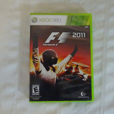 F1 Formula 1 2011 Videogame (Microsoft Xbox 360) w/ Manual and Case