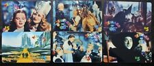 1995 WIZARD OF OZ *RARE* 6 Phone Cards 1st Limited Issued - Part #2 -UNUSED&MINT