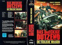 (VHS) Das dreckige Dutzend Teil 3 - Die tödliche Mission - Telly Savalas (1987)