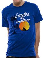 Official Eagles Of Death Metal Sun Logo T Shirt S M L XL XXL NEW Blue