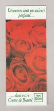Carteà parfumer - perfume card  -  Yves Rocher