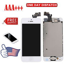 White for Apple iPhone 5 5g LCD Touch Display Lens Screen Digitizer Replacement