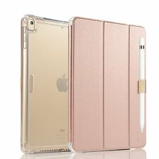 Apple iPad Pro 10.5 Case Smart Stand Heavy Duty Cover Pencil Holder Rose Gold