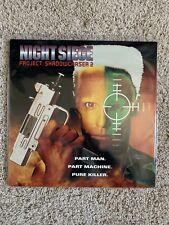 Night Siege - Project Shadowchaser 2 Laserdisc - ULTRA RARE