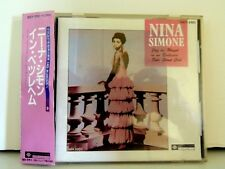 Nina Simone Cd Jazz as Played in an Exclusive Side St. Club, 30CY-2193, Japanese