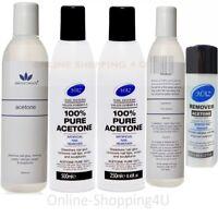 100 % Pure Acetone Chemical for Acrylic Nail Tips, Nail Glue/Nail Polish Remover