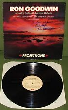 RON GOODWIN Projections ORIG 1st UK EMI 1983 AUTOGRAPHED
