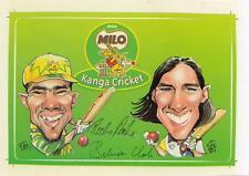 1980's Nestle Milo Cricket sticker in excellent condition 15cm x 10.5cm