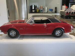 1/18 EXACT DETAIL 1967 CAMARO Z/28 RED/BLACK W BLACK VINYL ROOF *NEW* Z/28 Z-28
