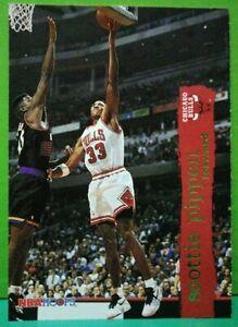 Scottie Pippen regular card 1995-96 Skybox NBA Hoops #24