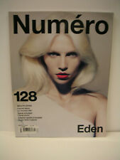 BRAND NEW: NUMERO FASHION MAGAZINE #128 NOVEMBRE 2011 WITH ALINE WEBER COVER