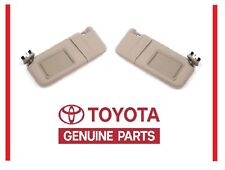 2007-2011 Toyota Camry Tan SUN VISOR Set Right & Left with Sunroof