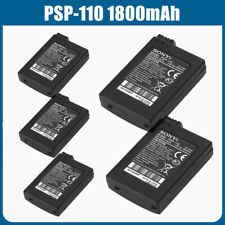 5PACK Official OEM PSP 1001 Sony 1000 Original Battery PSP-110 1800mAh Authentic