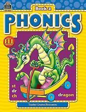 Phonics Book 2 Paperback New Condition by Teacher Created Rescources 3016