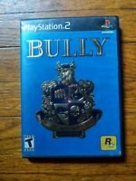 Bully (Sony PlayStation 2, 2006) w/ Manual NO Map Tested