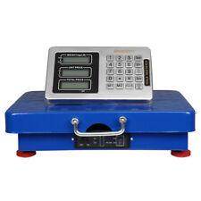 440lbs 200kg Weight Digital Floor Platform Scale Postal Shipping Mailing Us Plug
