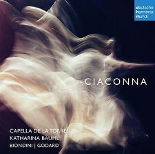 CAPELLA DE LA TORRE - CIACONNA  CD NEU