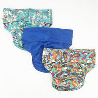 PRE-OWNED Teen & Adult Incontinence Reusable Pocket Cloth Diaper, No Insert