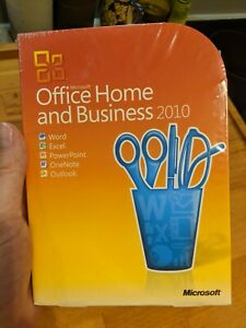 Microsoft Office 2010 Home and Business German DVD NEW T5D-00163