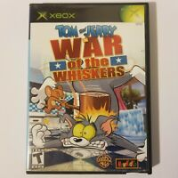 Tom and Jerry in War of the Whiskers Microsoft Xbox Blockbuster Case No Manual