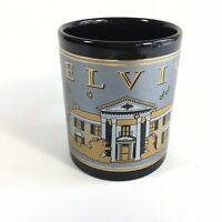 Elvis presley Starry Nite Black Gold Grey Graceland Mug