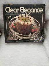 USA SELLER COLLECTIBLE PYREX CORNING CLEAR ELEGANCE 2 QT CASSEROLE NEW IN BOX