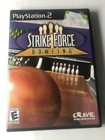 Strike Force Bowling (Sony PlayStation 2, 2004) Original PS2 Video Game Complete