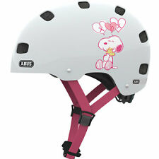 "ABUS Fahrrad Kinderhelm ""Scraper"" Peanuts White Hearts, Größe S (48-55 cm)"