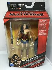 Wonder Woman DC Comics Multiverse Justice League Steppenwolf 2017 Mattel Figure