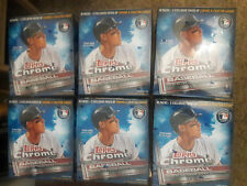 2017 Topps Chrome Baseball Mega Boxes 6 box lot 10 packs with 2 Xfractor packs