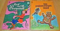 Set of 2 Merrigold Press Childrens Books Jack & the Beanstalk & Gingerbread Man
