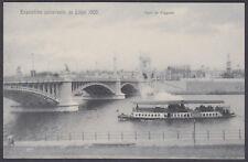 1905 Liege Universal Exposition / Exhibition, Pont de Fragnee; Unused Postcard