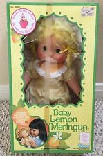 Vintage Strawberry Shortcake Baby Lemon Meringue - Blow Kiss Doll - NEW in Box