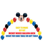 Mickey Mouse Clubhouse BIRTHDAY BALLOON ARCH DIY KITS Party Decorations