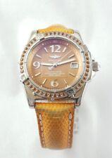 Breitling A77348 Femmes 35 mm Quartz Orange Sapphire lunette