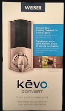 New Weiser Lock Kevo Convert Deadbolt Smart Lock Conversion Kit**FACTORY SEALED*