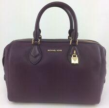 New Authentic Michael Kors Leather Grayson LG Convertible Satchel Handbag Purse