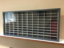 Display case cabinet for 1/64 diecast scale cars (hot wheels, matchbox) 100NGG-7