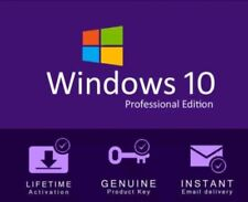 🧧Microsoft Windows 10 Pro 32/64bit Genuine Retail Key - Immediate Delivery🐀🧧