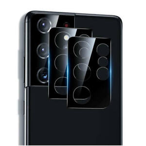 For Samsung S21 Ultra S21 S21+  9H Tempered Glass HD Rear Camera Lens Protector