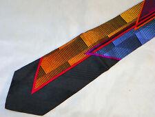 VITALIANO PANCALDI [ MULTI-COLOR ] men's tie 100% Silk Made in Italy