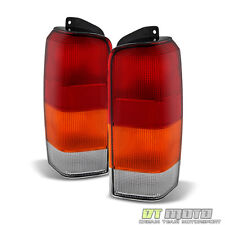 1997-2001 Jeep Cherokee XJ Replacement Brake Tail Lights Lamps 97-01 Left+Right