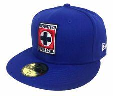 Cruz Azul Fitted New Era 59Fifty Logo Royal Blue Cap Hat
